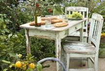 //Garden spaces / Outside living, creative garden