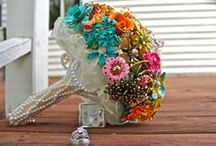 Brooch Bouquet. / Brooch Bouquets. / by Pamela Fosse