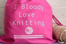 knitting / by Mandi Withycombe