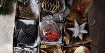 Christmas / Noël / Toutes nos inspirations pour faire entrer la magie de Noël chez vous et rêvez !