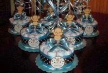 Diaper Cake. / Diaper crafts. / by Pamela Fosse