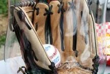 Sports Party. / Sports Party ideas, decor and centerpieces. / by Pamela Fosse