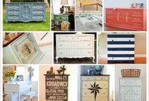 DIY Furniture. / Do It Yourself Furniture Ideas / by Pamela Fosse