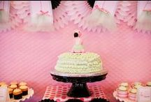 Pink and Mint Green Baby Shower