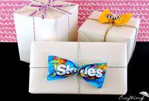 Gift. Wrap. / Gift wrap ideas. Packaging. / by Pamela Fosse