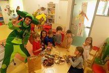 Детские праздники / Мы делимся своим вдохновением от организации детских праздников.