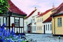 La casa e la città di Hans Christian Andersen / Alcune immagini che ci avvicinano al grande scrittore. Andersen nacque nei quartieri poveri della città di Odense, in Danimarca, nell'isola di Fionia, figlio di un calzolaio che fabbricava scarpe, Hans Andersen e di Anne Marie Andersdatter, più anziana del marito di quasi quindici anni.