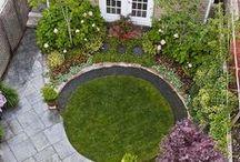 Małe ogrody / Inspirujące projekty zagospodarowania ogrodów