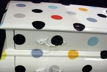 Polka Dot Fetish / I LOVE LOVE LOVE Polka Dots!!! Black with white polka dots is my fave!!!! But they just look sooo happy! / by Just Jennifer Bee