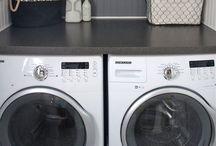 Laundry & Garage
