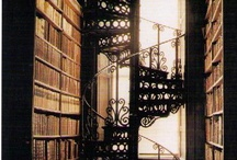{ libraries & reading nooks } / by Emie Fenton