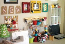 Craft Organization / Genius ideas for how to organize my sewing, knitting, and other hobby craft supplies.