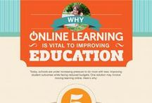 Elearning  / Infograficos sobre #elearning online education / by Pedro Caramez // Linkedin / Social Media