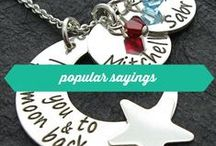 "popular sayings / Wickedly Mod designs featuring popular sayings like ""love you to the moon & back"", ""you are my sunshine"", etc"