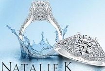 Natalie K / A Natalie K ring is an elegant expression of all that is timeless and classic in diamond jewelry.  Firenze Jewels proudly carries this exclusive designer line of exquisite engagement rings, wedding bands and bridal jewelry. Natalie K is renowned for their wide range of designs including classic and antique style engagement rings. Shop Natalie K at Firenze Jewels: http://www.firenzejewels.com/designer-jewelry/natalie-k/