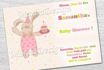 Baby Shower / Arrange the sweet holiday to your baby!