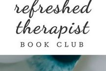 | Refreshed Therapist Book Club | / Book ideas and suggestions for the Refreshed Therapist Book Club--an online book club for therapists, counselors, and mental health professionals.  Learn, grow, and discuss ideas inside this community of colleagues, and read at your own pace. The book club includes a monthly book guide, live streams, and interviews with authors. Learn more about the book club: bit.ly/rtnbookclub