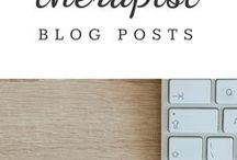 | Therapist Blog Posts | / Blog posts by psychotherapists in any niche or business, including therapist coaches and consultants. Topics include therapy, relationships, couples, health and wellness, mental health, stress, parenting, among others. Please pin original blog content--no limits. Comment on a pin to be invited to contribute to the board.