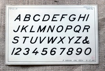 fonts + typography / by Kate Baird
