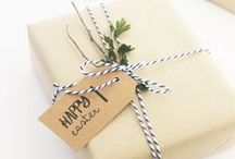 packaging + gift wrap / by Kate Baird