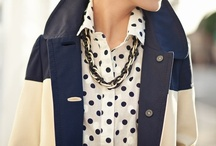 style : everyday / Outfit inspiration for the day-to-day. I like navy and gray, stripes and polka dots, classic and preppy, tailored and relaxed, feminine details and clean lines.