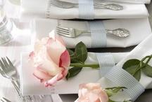 Table settings / by Teri Krezdorn