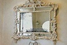 Thru the L@@king Glass...... / all different kinds of gorgeous mirrors... / by Judy Ridings :)