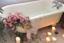 Calgon...take me away~~ / wonderful bathtubs to soak in..... / by Judy Ridings :)