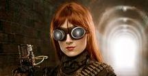 Steampunk clothing and fashion / How to look beautiful and fascinating while wearing steampunk