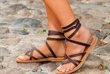 SummerTime Sandals / shoes to wear during the warm months of summer / by Judy Ridings :)