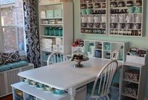Future Craftroom / Ideas for when I get a craft room; desk space, storage, decorating ideas, room ideas, etc / by Jessica Mayer