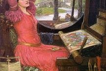 John William Waterhouse / An English painter known for working in the Pre-Raphaelite style. Painter of classical, historical, and literary subjects. John William Waterhouse was born in 1849 in Rome, died London 1917.