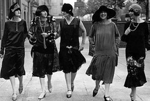 """1920s! / The Roaring Twenties is a term sometimes used to refer to the 1920s, characterizing the era's distinctive cultural edge in most of the world's major cities for a period of sustained economic prosperity. French speakers dubbed it the """"années folles"""" (""""Crazy Years""""),[1] emphasizing the era's social, artistic, and cultural dynamism. -Wikipedia / by Deni"""
