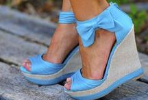 A WEDGE Obsession!!! / I LOVE WEDGES!!  / by Judy Ridings :)