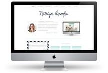 web + blog design / by Kate Baird