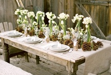 Beautiful tablescapes / by Vicki Boster