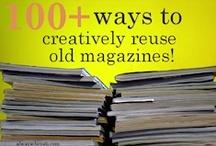 Upcycle, reuse, repurpose