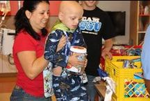 Children's Hospital Joy Visits / Children fighting cancer in hospitals around the country receive JoyJars and a special note of encouragement from the Jessie Rees Foundation's Joy Factory.