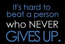 Never Ever Give Up / A global message of hope and encouragement for children fighting cancer
