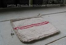 Knitted washcloths / by Vicki Boster