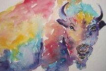 paintings watercolor / by Brenda Smith