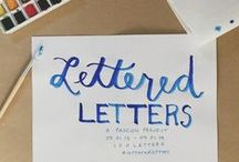 lettering + calligraphy
