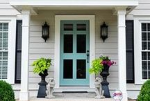 home : curb appeal / by Kate Baird