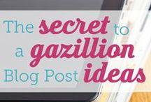 Writing - Blogging