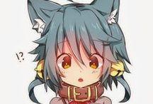 Neko Girls / Neko Girls, Kitsune, Ookami Shoujo etc.