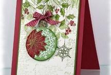 Scrap cartões de Natal