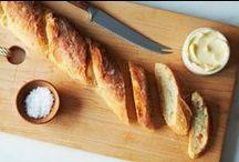 bread baking.