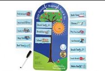 Easy Daysies Magnetic Schedules for Kids / Get kids organized, independent, and into routine with easy-to-use magnetic schedules!