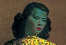 Tretchikoff / Green Lady