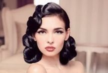 Glamorous Hairstyles / A collection of Glamour - maybe a place to visit before your photo shoot for some ideas